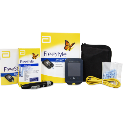 Freestyle optium neo freestyle optium neo glucometer with 50 test strips aloadofball Choice Image